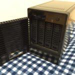 NETGEAR ReadyNAS 104のセットアップ(ハードディスク設定)