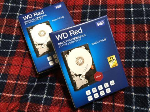 WESTERNDIGITAL 内蔵ハードディスク 3TB Red